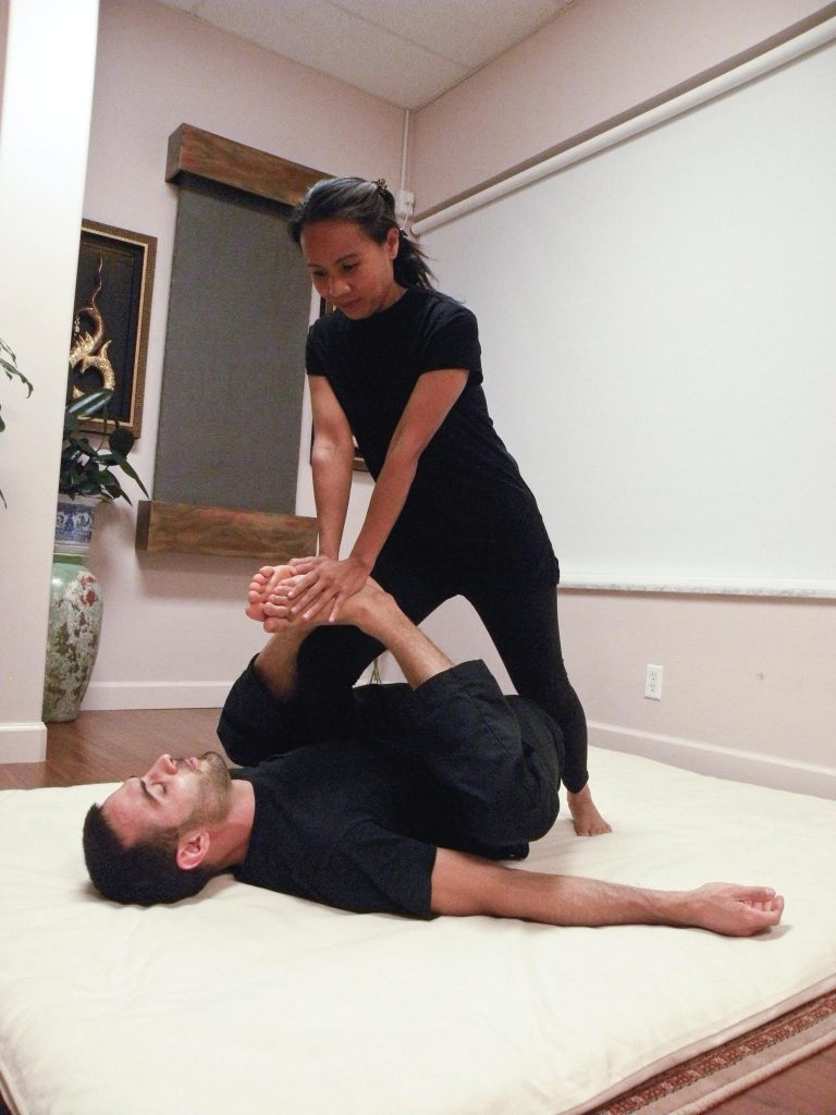 Thai massage pictures